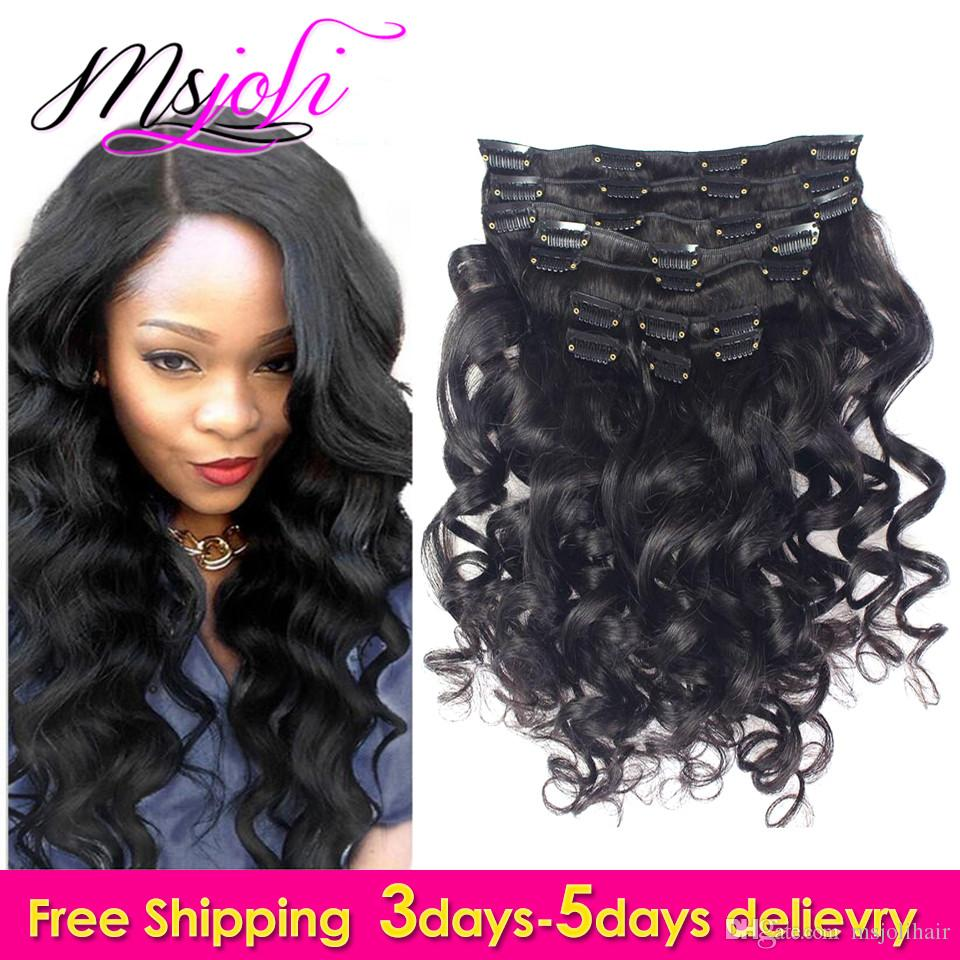 7a peruvian virgin human hair loose wave clip in extension natural 7a peruvian virgin human hair loose wave clip in extension natural color beauty hair full head 12 28 inches msjoli cheap red hair extensions red and black pmusecretfo Gallery