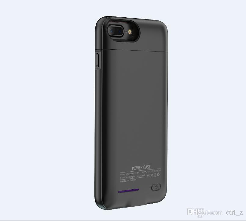 custodia caricabatterie iPhone X XS MAX XR 6s 7 8 plus magnete incorporato Custodia di ricarica wireless ultra sottile Batteria esterna batterie
