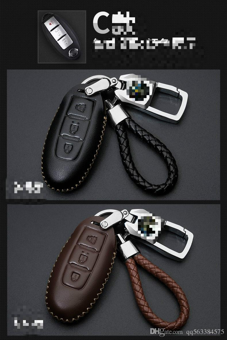 Manufacturer specially designed for nissan leather key package
