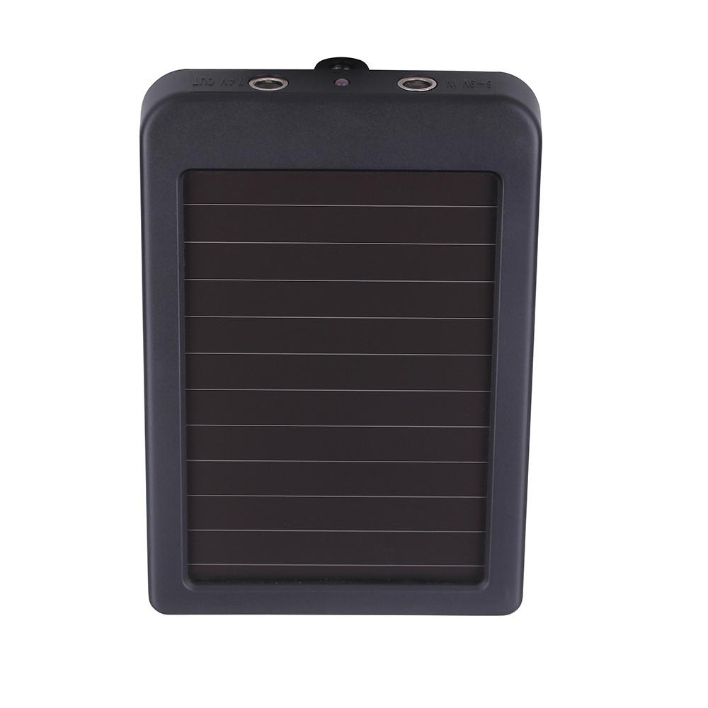 Wholesale-Wholesale New Charger 1500mAH Charger for HT Series Hunting Camera 0.4W Waterproof Solar Panel Charger