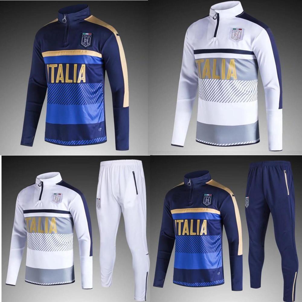Extrêmement AAA+quality 2017 2018 Italy Football Jacket Tracksuit 17 18  HI72