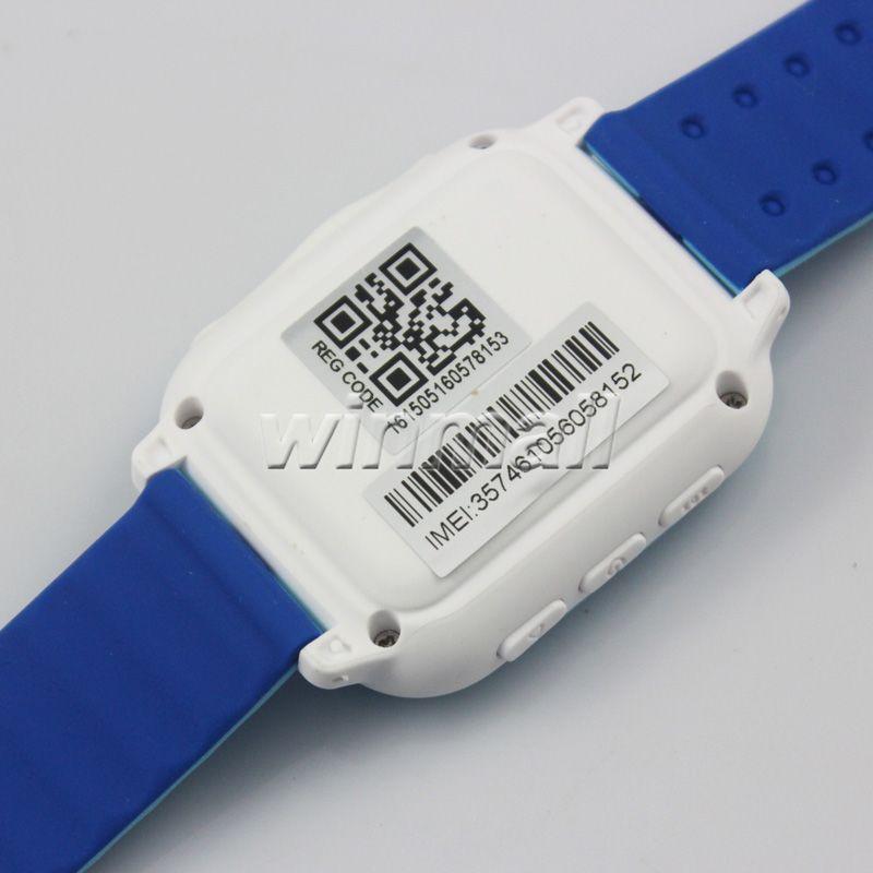 DS18 Kids Smart Watch bambini Bambini GPS Tracker SOS di emergenza anti-perso GPRS / GSM / WiFi Posizionamento Monitor remoto