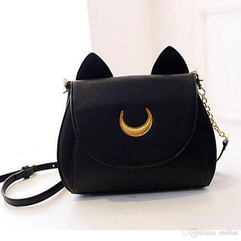 79838c6700 Hot Fashion Women Bags Sailor Moon Chain Shoulder Bag Ladies Cute ...