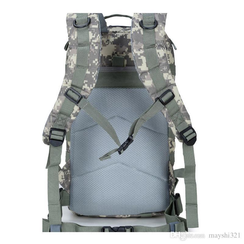 Sports de plein air 35L 3P Militaire Tactique Sac À Dos Oxford Étanche Camouflage Sac De Camping Randonnée Sac Sacs À Dos Trekking Sac Sacs