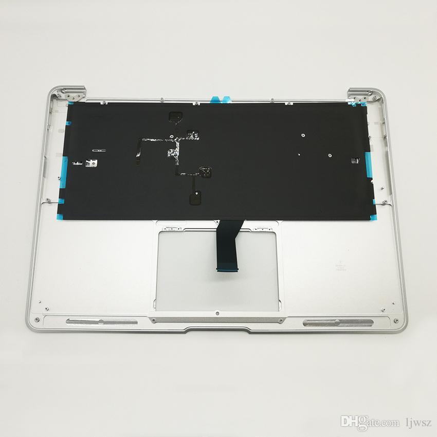 """Brand New German Deutsch QWERTZ Tastatur Top Case Keyboard For MacBook Air 13.3"""" A1466 Topcase Palmrest 2013-2015 Years"""