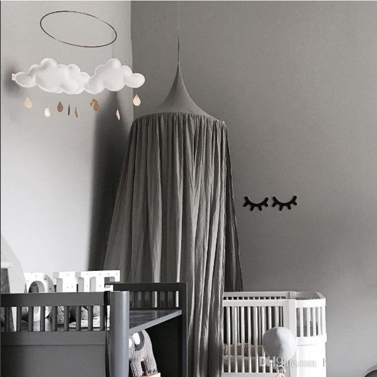 2017 Baby Tent Crib Netting Palace Children Room Bed Curtain Hung Dome Mosquito Net Cotton Kids Girls Mantle Nets Tents Babee Tenda Crib Mickey Crib Bedding ... & 2017 Baby Tent Crib Netting Palace Children Room Bed Curtain Hung ...