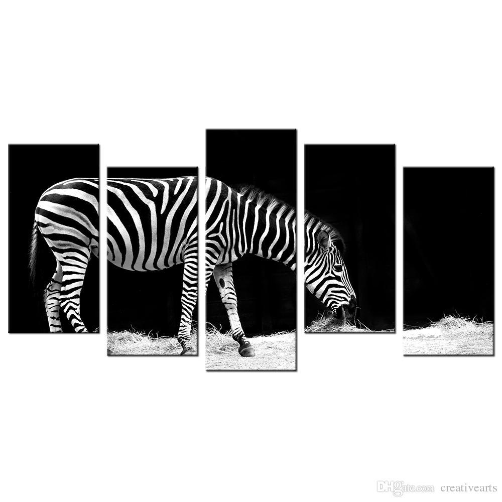 Satın Al Vahşi Hayvan Hd Fotoğraf Giclee Boyama Zebra Resim Baskı