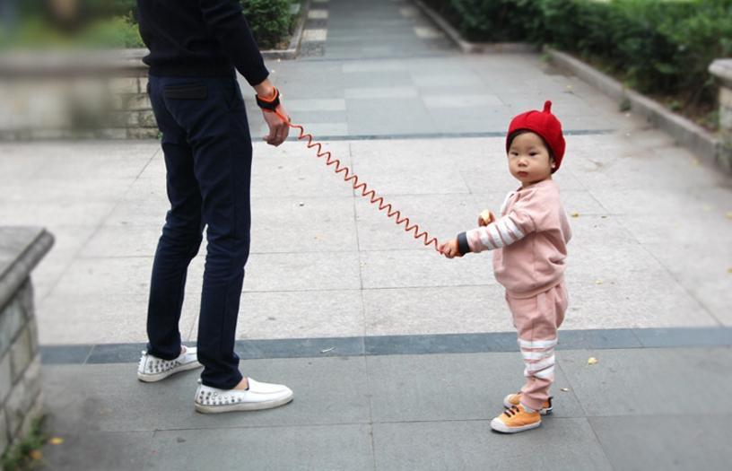 1.5 متر 2 متر سلامة الطفل لمكافحة خسر حبل تسخير طفل المقود مكافحة خسر المعصم رابط أطفال الجر حبل سوار الأطفال السلامة تدوير حزام c1417