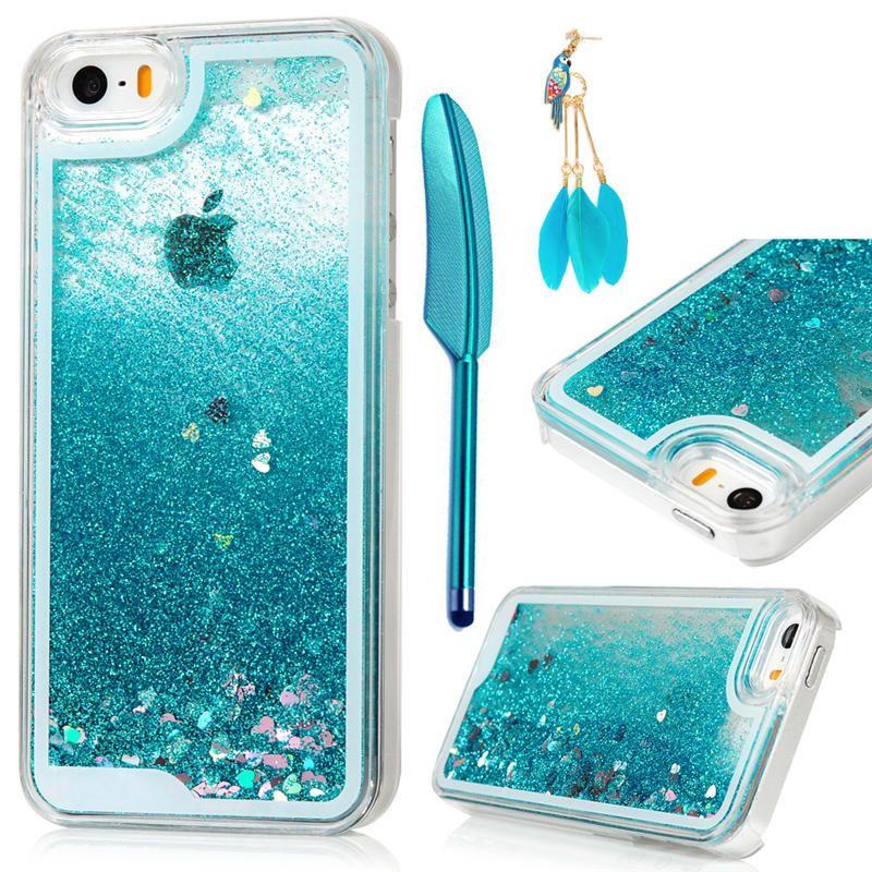 DHL Phone Case 3D Liquid Glitter Sand Star Quicksand Cases