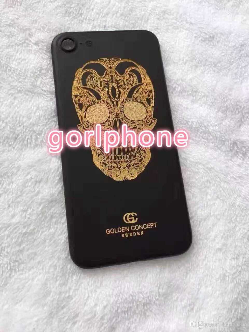 Hot Selling for iphone 7 matte black housing replacement housing back panel 2016 New product custom color for iphone 7 matte black housing