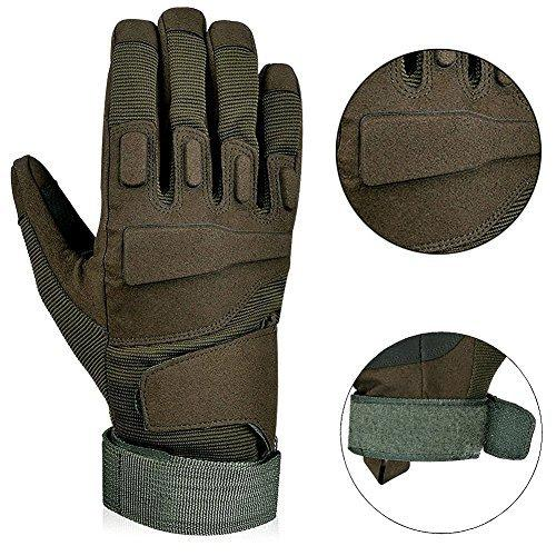 Full Finger Military Tactical Airsoft Hunting Riding Cycling Anti-Vibration Slip-Proof Motorcycle Bicycle Glove Outdoor Sports Glove