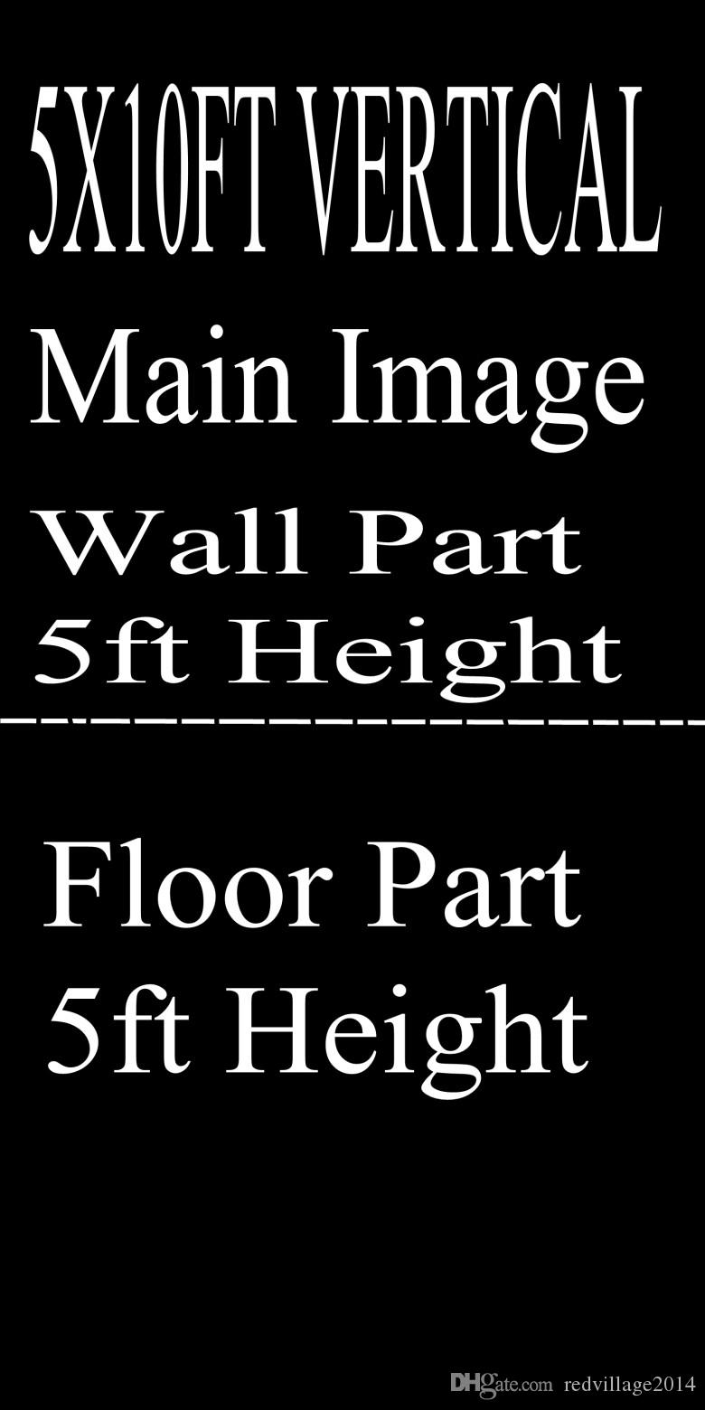 Wholesale Custom 5X10FT/6.5X10FT VERTICAL Photography Studio Background Backdrop For Camera Photos/Make Notes With Model /ID Number