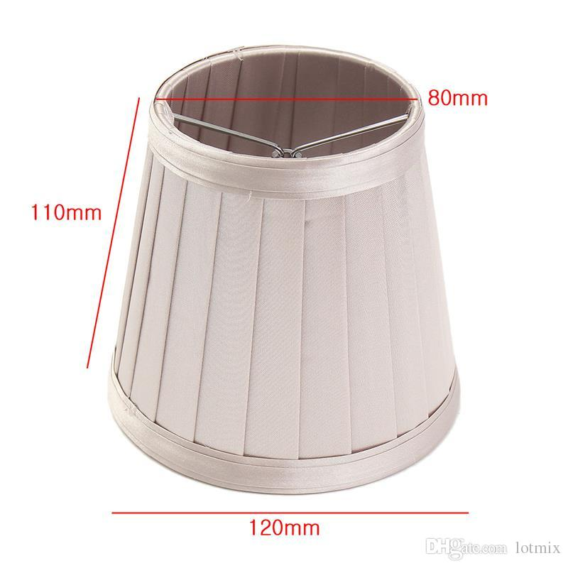 Modern Chandelier Ceilling Light Lamp Fabric Lampshade Table Wall Lamp Cover European Style 3 Colours