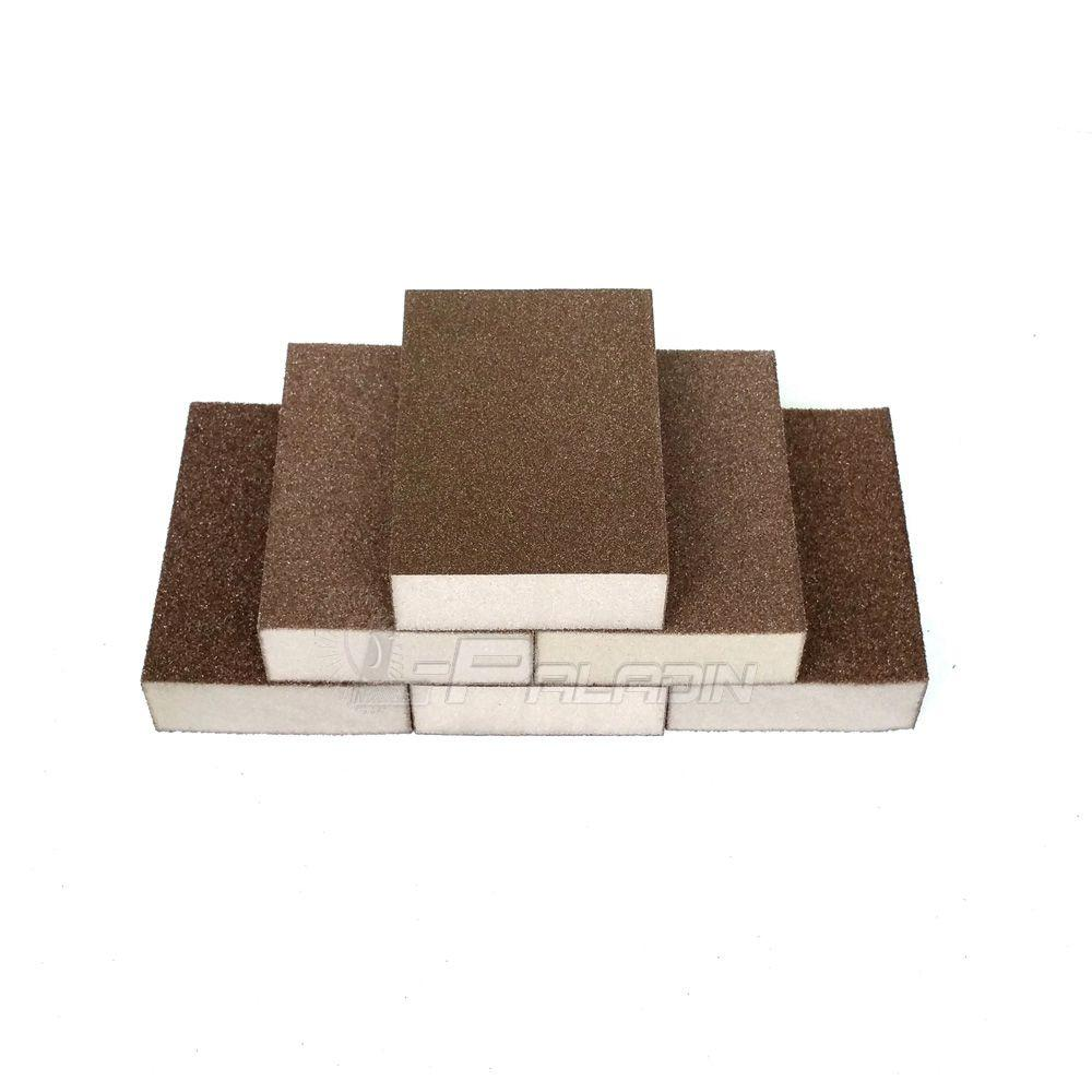2018 P80 P120 P180 Sanding Sponge Block Abrasive Pad For Furniture  # Muebles Dor Pibo