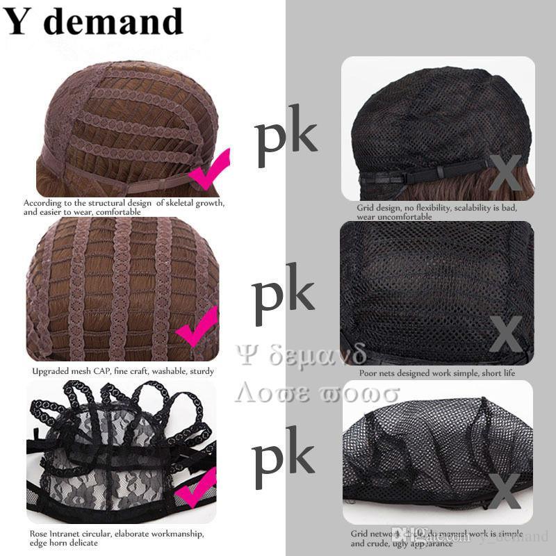 Moda Longo Weave Cortes de Cabelo Kanekalon Top Quality Resistente Ao Calor Africano Americano Mulheres Peruca Novo Cabelo Para As Mulheres Em Estoque Y demanda