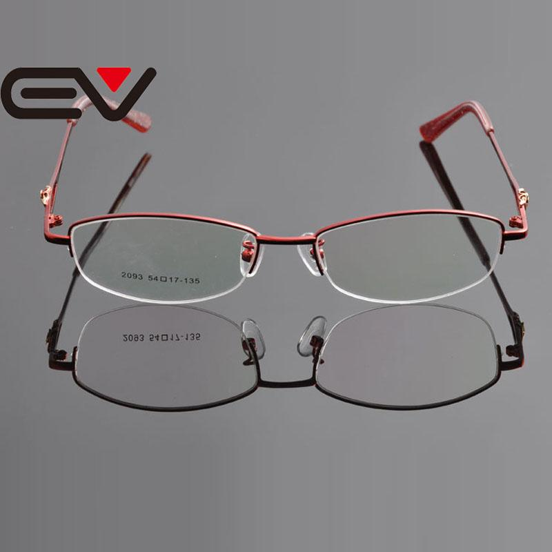 f5bb6a6cf29 2019 Wholesale 2015 New Design Clear Lens Eyeglasses New Woman Metal  Glasses Metal Optical Frame Armacao De Oculos De Grau Femininos EV0924 From  Xiacao