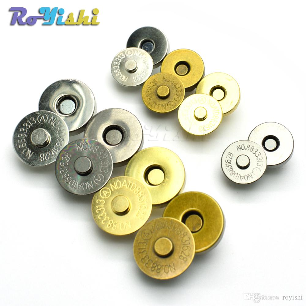 2019 Magnetic Snap Fasteners Clasps Buttons Handbag Purse