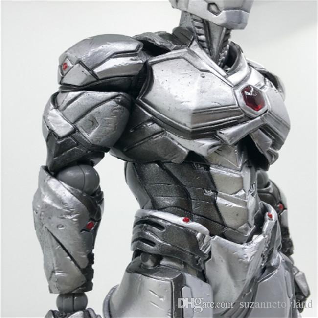 Suzannetoyland Iron Man movie Mark II action figure Action Figure Toy Figure'simulation models Doll Iron Man 2 For