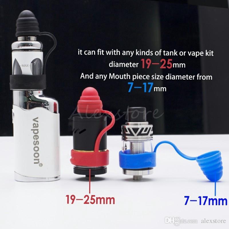 Antipolvere Anti-scivolo Anello antibatterico Fit Atomizer Mod