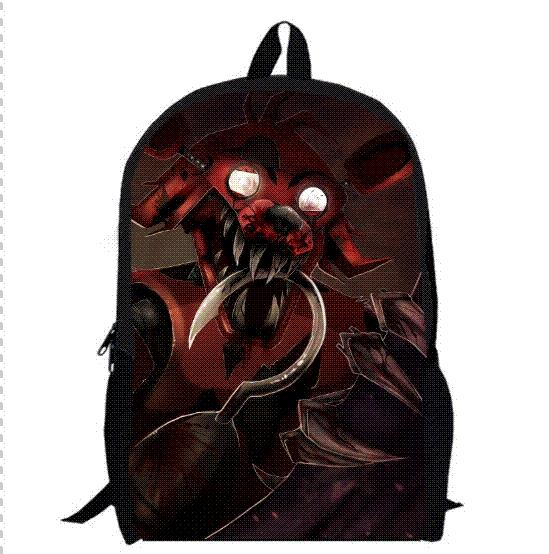 13inch Five Nights at Freddy s Backpack Double Layer Children Freddy ... 19572b6fe1