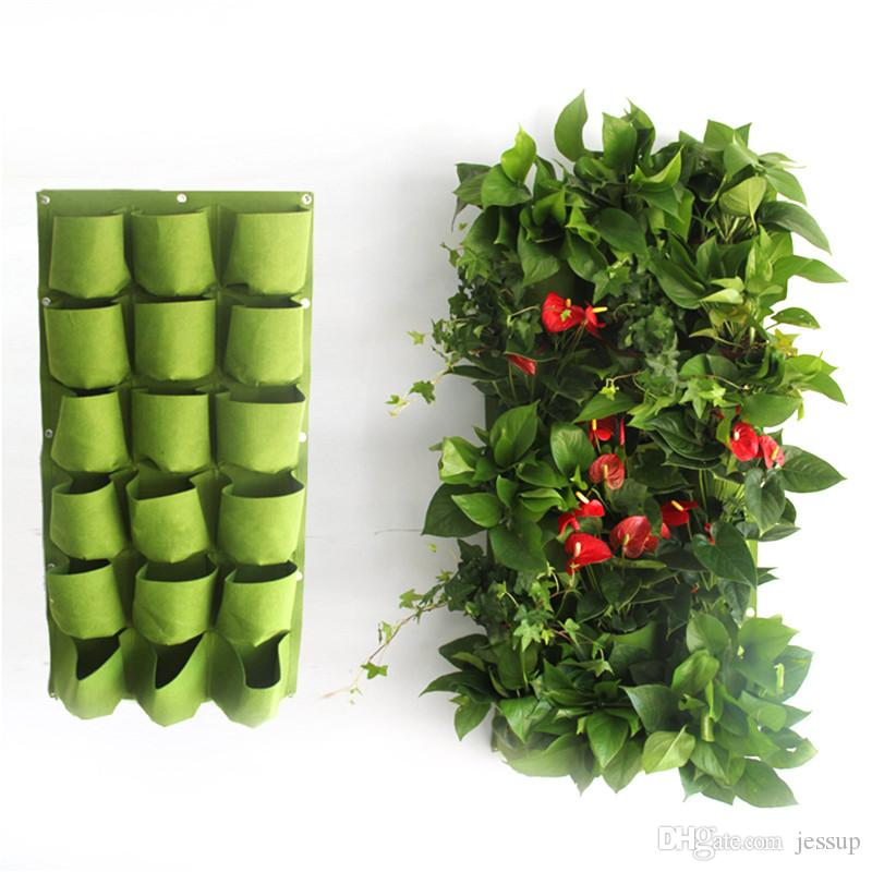 18 pockets 50cm100cm hanging plant pots wall pot vertical garden 18 pockets 50cm100cm hanging plant pots wall pot vertical garden flower pots and planter hanging pots planter hanging plant pots wall pot vertical pockets workwithnaturefo