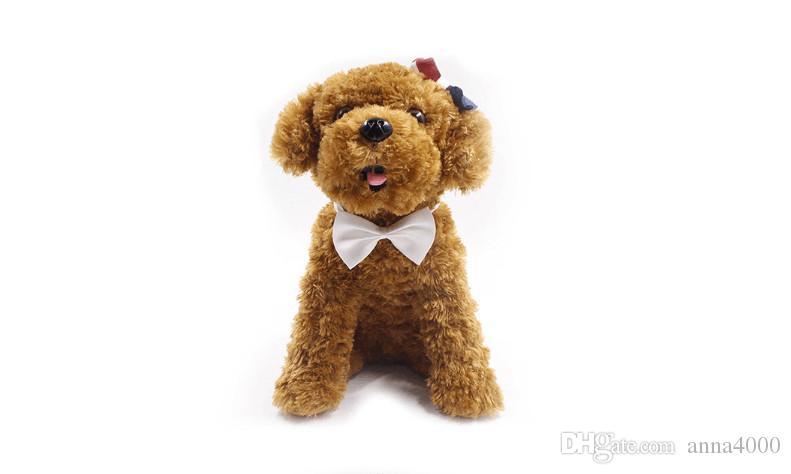 100 Pz Moda Carino Cat Dog Puppy Pet Bow Neck Tie Cravatta Regalo Accessore Collo regolabile