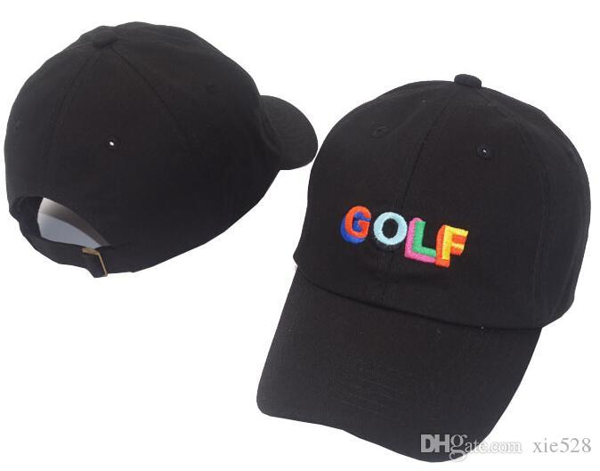 Tyler The Creator Golf Hat - Cappello nero papà Cap Wang Cross T-shirt Earl Odd Future Casquette NOSTALGIA Wave Hat