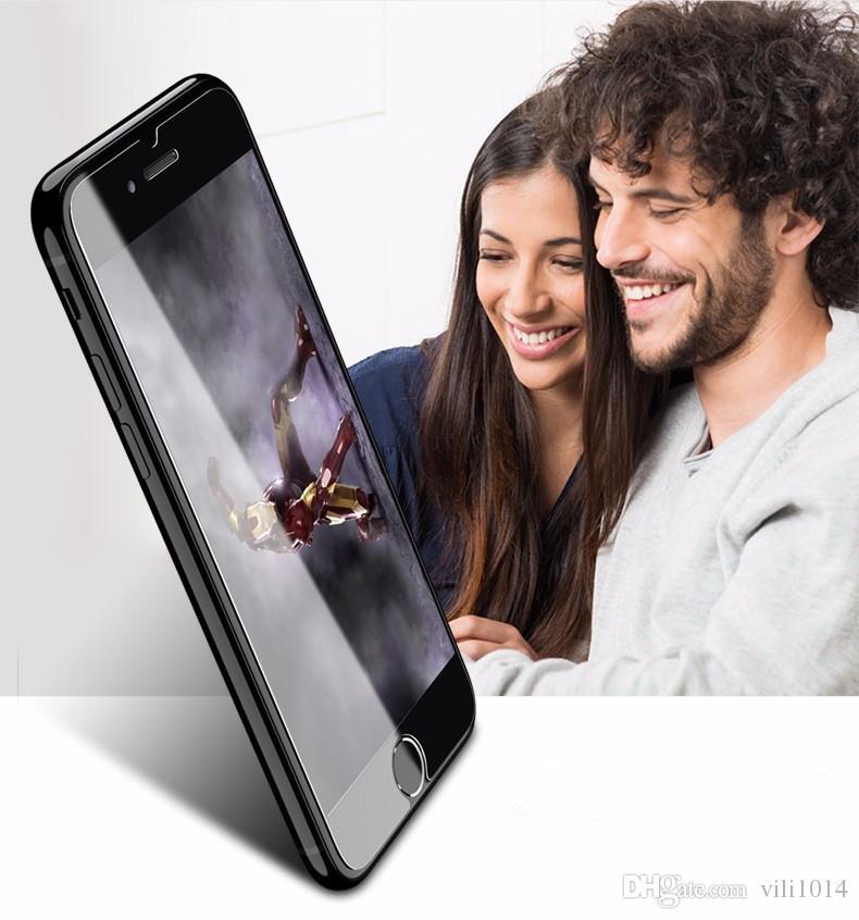 آيفون 6 6 ثانية 7 زائد 5 ثانية سامسونج s7 حافة s8 9 h 0.26 ملليمتر 2.5d الزجاج المقسى مكافحة صدمة حامي الشاشة فيلم