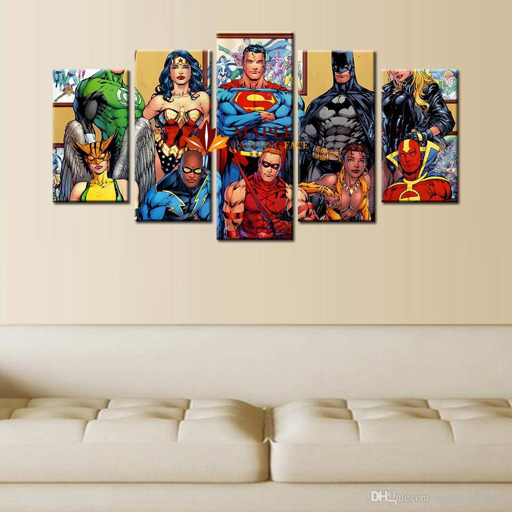 MODERN WALL ART HOME DECORATIVE HD CANVAS PRINT WALL DECOR ART OIL PAINTING ON CANVAS-Dragon Ball PICTURE LARGE CANVAS ART CHEAP