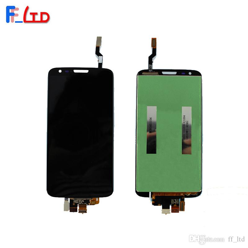 OEM Phone Parts for LG G2 D800 D802 LCD Display Digitizer with Touch Screen Full Assembly Replace 100% Tested