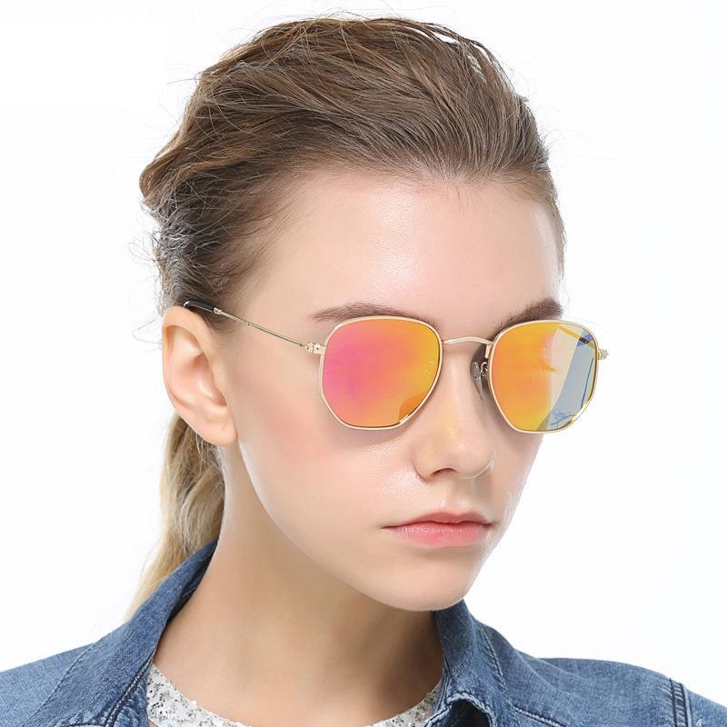 33fdcbe867 High Quality Designer Sunglasses For Women With Flat Glass 51mm ...