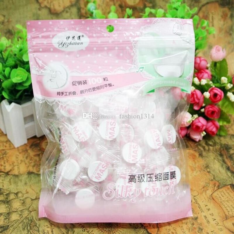 Makeup facial mask High quality Skin Care DIYl Face Compressed Mask Paper Tablet Masque supply