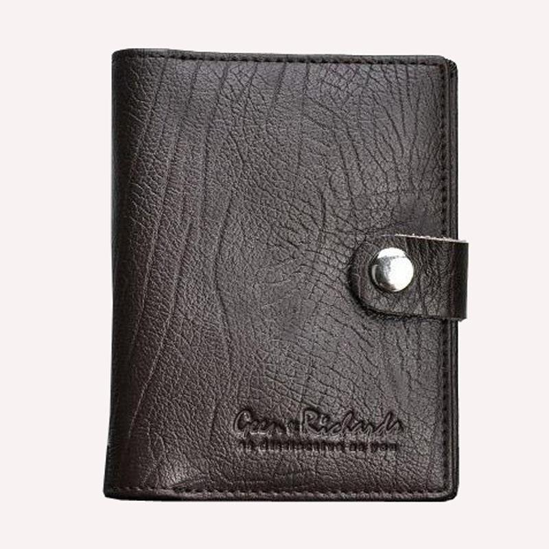 Male Genuine Leather Wallet Card Holder Personalized Driver\'s ...