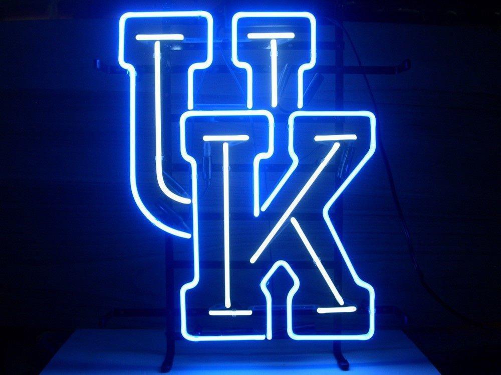 2019 new university of kentucky wildcats neon light sign home beer