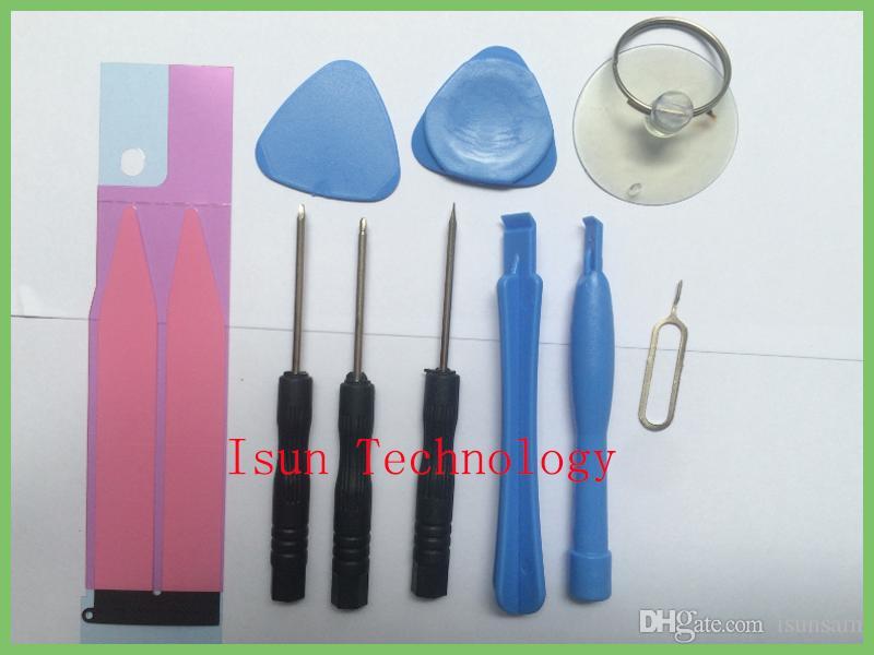 Etiqueta adhesiva de la batería Teléfonos celulares Juego de herramientas de reparación de palanca de apertura Juego de herramientas de destornilladores