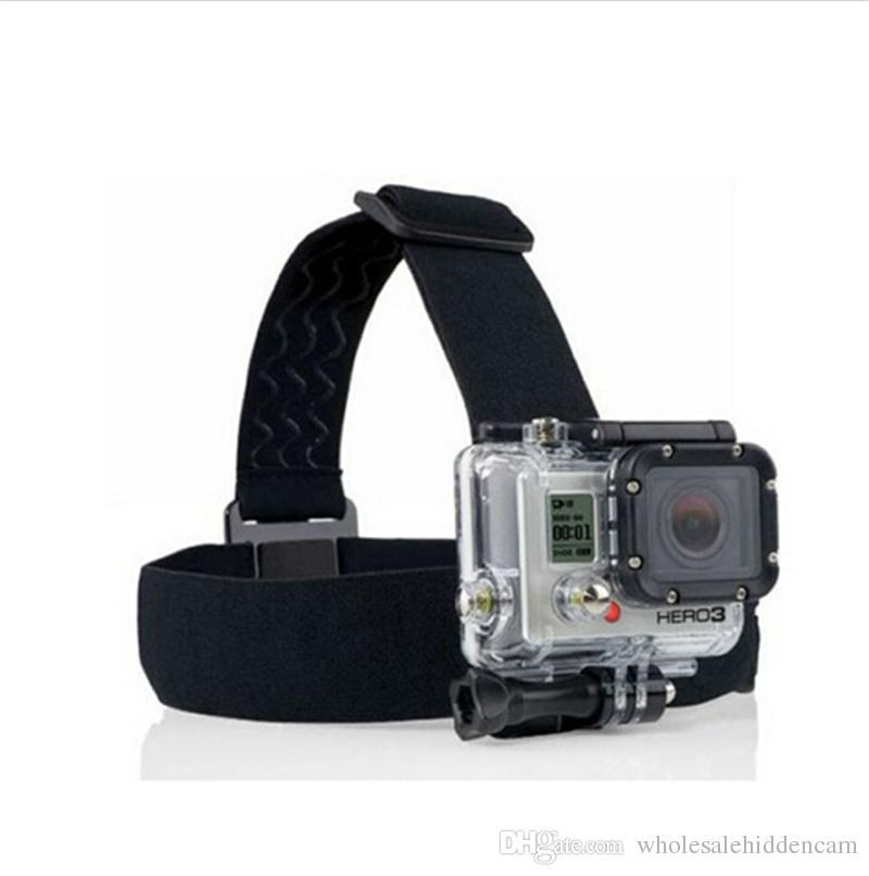 4K Wifi Action Camera Accessories Kit Float Bobber Handheld Stick + Chest Belt + Head Strap