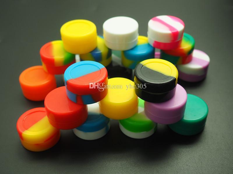 5ML el más nuevo 100X The Slick de contenedor de silicona promocional cera de aceite concentrado aceite Slicks