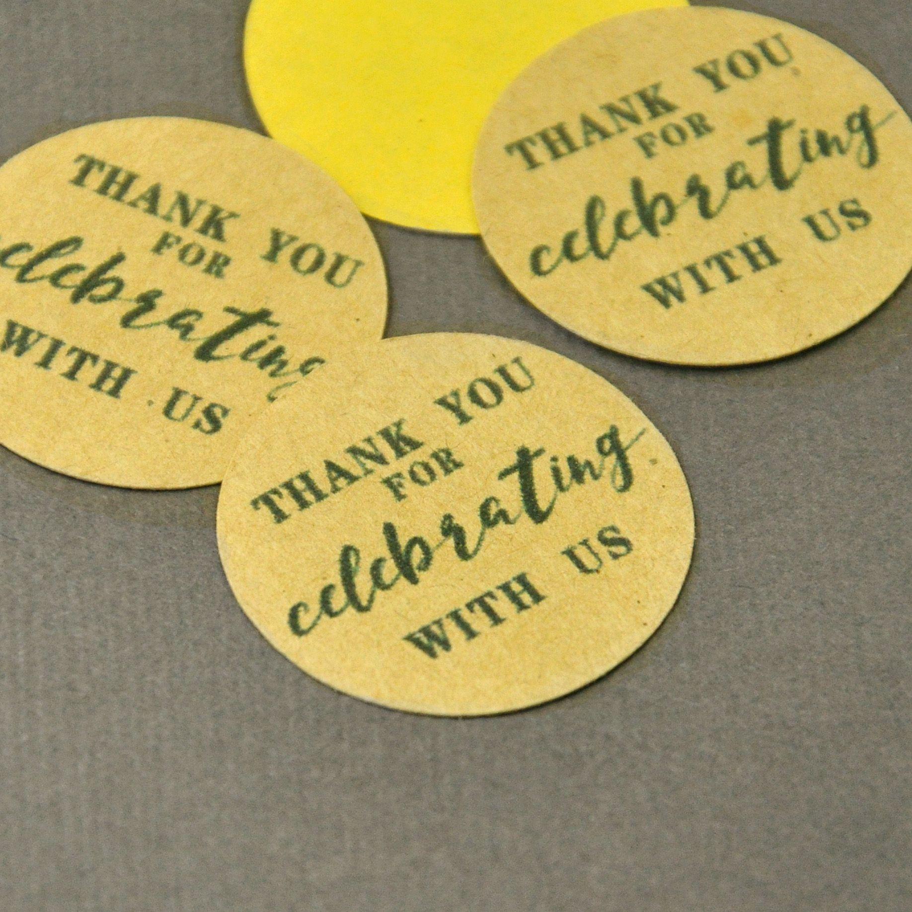 2018 wedding favor stickers,wedding favor labels,thank you sticker