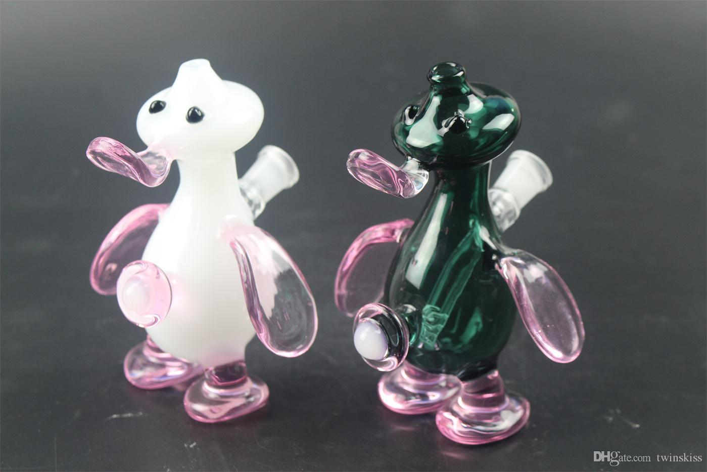 duck water glass pipes pipe sound recycle bin low price and high quality product