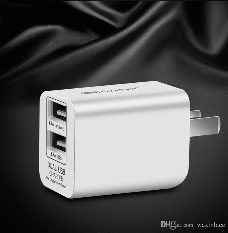 빠른 충전 3.0 Xiaomi 삼성 아이폰 iPad에 대한 휴대 전화 듀얼의 USB 벽 여행 충전기 어댑터 Foldable 미국 플러그