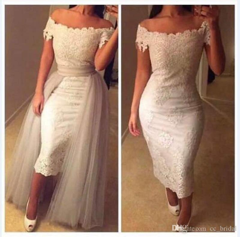 Mermaid Tea Length Dress