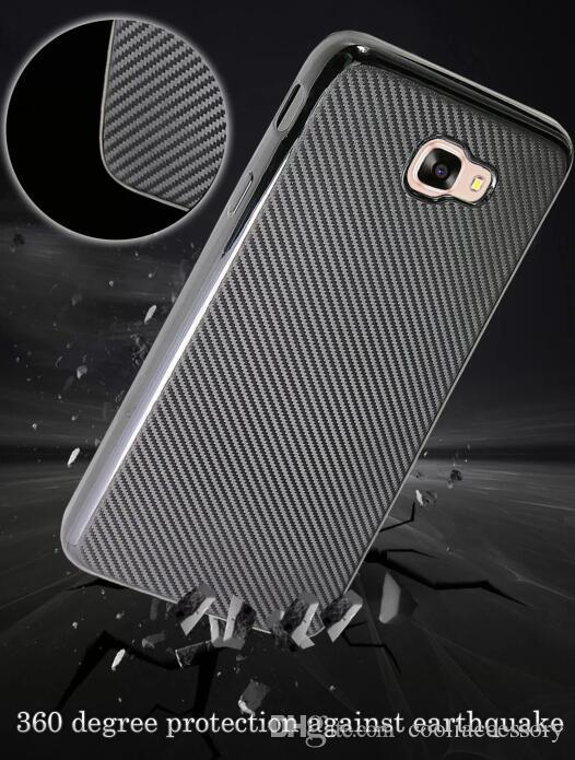 Carbon fiber Soft TPU Case For Samsung Galaxy J5 Prime J7 Prime On5 On7 2016 J510 J710 J1 MINI J2 Grand Prime G530 Skin Cover Luxury