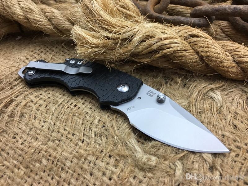 Hot Kershaw 3800 couteau à lame pliante, 440 couteaux à dossier tactique en acier, mini couteau de poche en plein air, couteaux de survie cadeau EDC