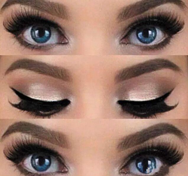 Nuevo 2 Estilos Belleza Eyeliner Cat Modelos Smokey Eye Stencil Plantilla Shaper Eyeliner Maquillaje Herramienta