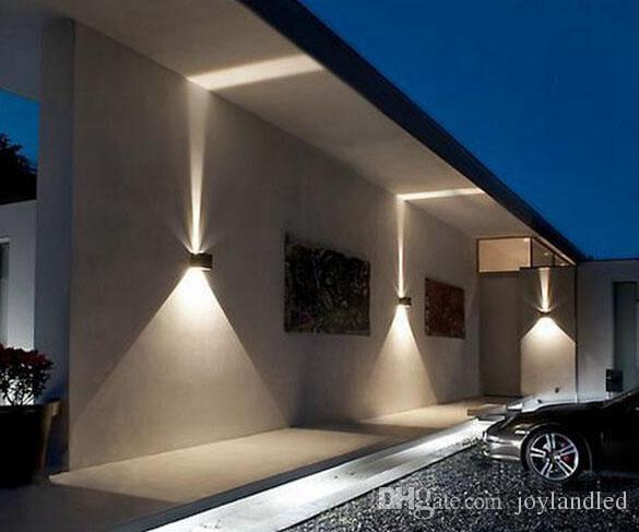 Lampade Da Parete Per Esterni : Acquista lampada da parete esterni da parete in alluminio ip da