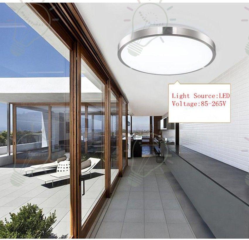 2017 Светодиодные потолочные светильники Dia 350mm 220V 230V 240V 16W 36W 45W светодиодные лампы Современные LED потолочные светильники для гостиной поддержки Номер