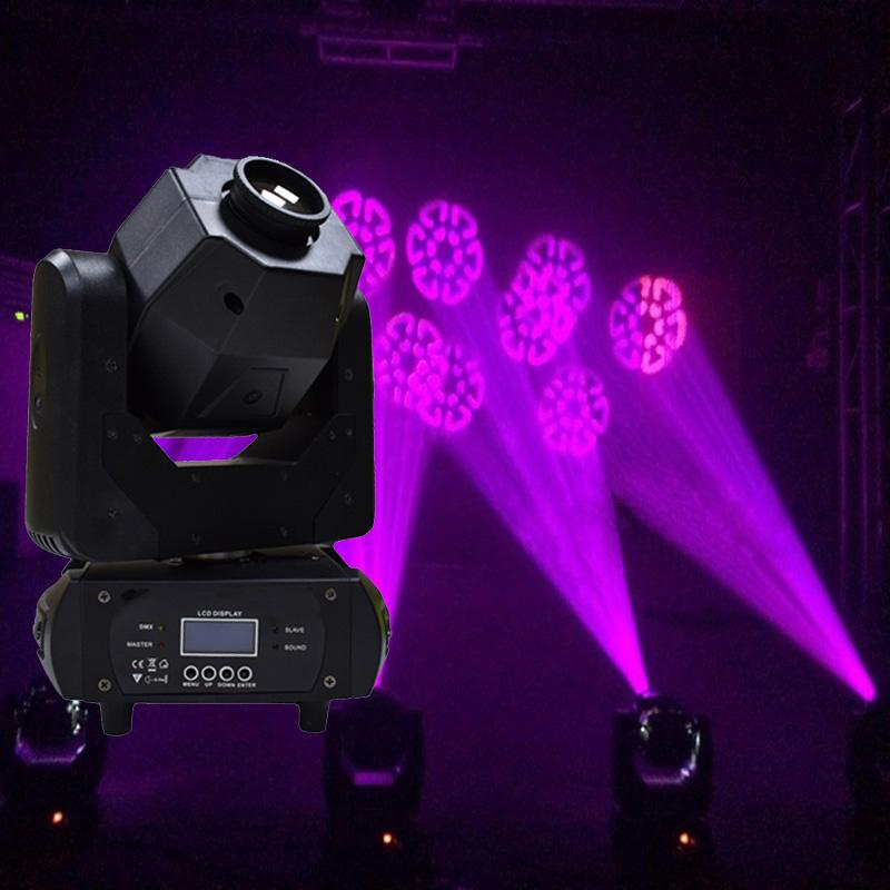 Wholesale 3 Facet Prism 60w Moving Head Spot Light Dmx 512 Led Gobo Effect Dj Disco Party Event Show Stage Lighting