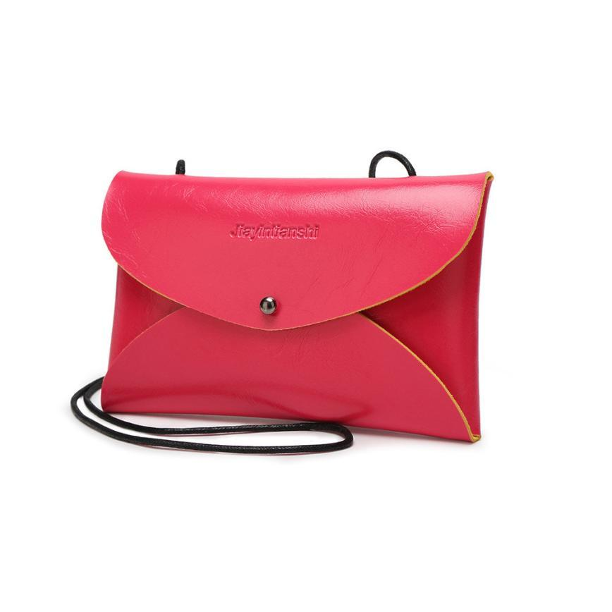 8b58791ae0c7 Wholesale 2016 Hot Promotion! Envelope Cutch Bag Messenger Bag Shoulder  Pouch Women PU Leather Handbags Cheap Handbags Handbags For Women From  Murie