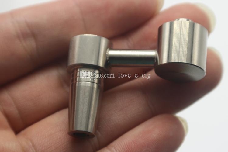 Неуместные титановые ногти Двойная функция, совместимая с 10 мм мужского женского сустава для универсальных нефтяных установок стеклянные водные бонги