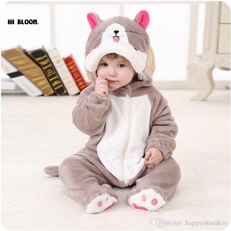 9dd9dbfa73d1 High Quality Baby Clothing 100% Flannel Long Sleeve Baby Jumpsuit ...